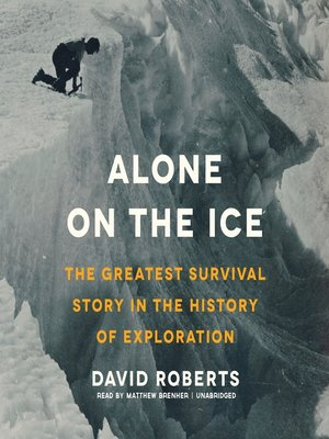 Click this cover for a(n) Audiobook sample of Alone on the Ice.