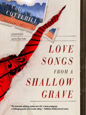 Click this cover for a(n) Audiobook sample of Love Songs from a Shallow Grave.