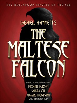 Click this cover for a(n) Audiobook sample of The Maltese Falcon