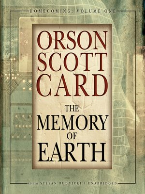 Click this cover for a(n) Audiobook sample of The Memory of Earth.