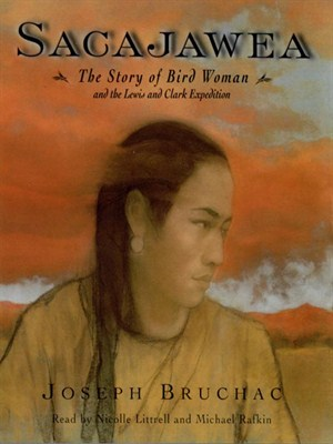 Click this cover for a(n) Audiobook sample of Sacajawea.