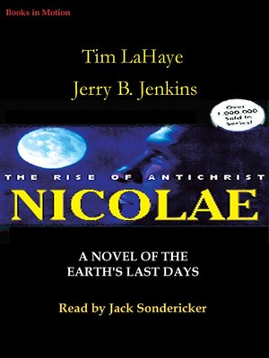 Click this cover for a(n) Audiobook sample of Nicolae.