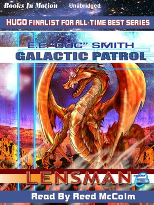 Click this cover for a(n) Audiobook sample of Galactic Patrol.