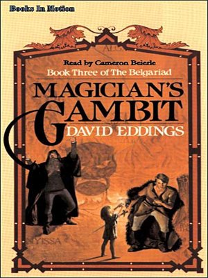 Click this cover for a(n) Audiobook sample of Magician's Gambit.