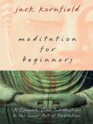 Click this cover for a(n) Video sample of Meditation for Beginners