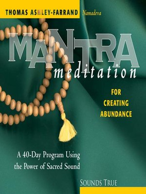 Click this cover for a(n) Audiobook sample of Mantra Meditation for Creating Abundance.