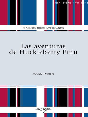 Click this cover for a(n) eBook sample of Las aventuras de Huckleberry Finn