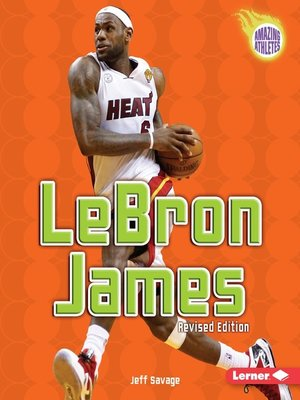 Click this cover for a(n) eBook sample of LeBron James.