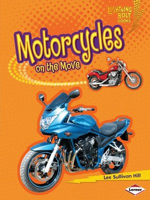 Click this cover for a(n) eBook sample of Motorcycles on the Move