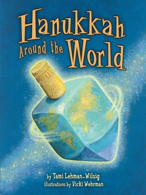 Click this cover for a(n) eBook sample of Hanukkah Around the World.