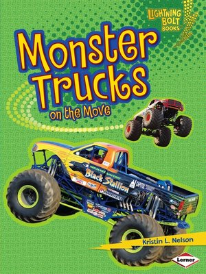 Click this cover for a(n) eBook sample of Monster Trucks on the Move