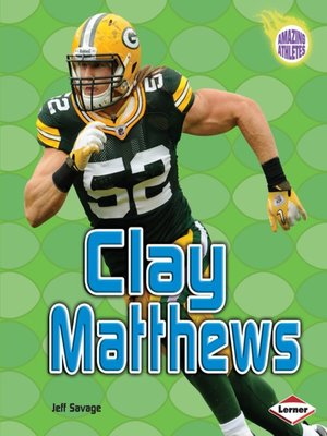 Click this cover for a(n) eBook sample of Clay Matthews.