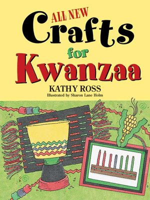 Click this cover for a(n) eBook sample of All New Crafts for Kwanzaa.