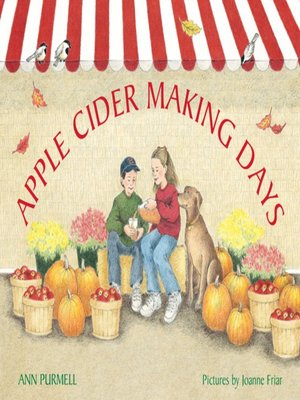 Click this cover for a(n) eBook sample of Apple Cider Making Days