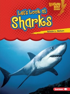 Click this cover for a(n) eBook sample of Let's Look at Sharks