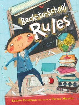 Click this cover for a(n) eBook sample of Back-to-School Rules