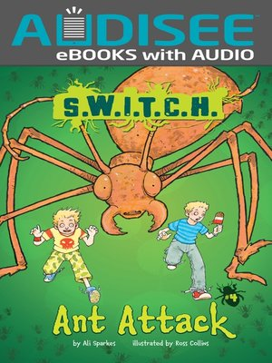 Click this cover for a(n) eBook sample of Ant Attack.