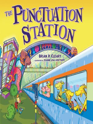 Click this cover for a(n) eBook sample of The Punctuation Station.