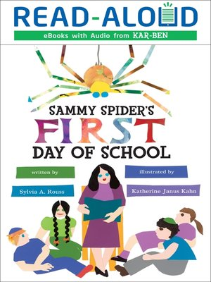 Cover of Sammy Spider's First Day of School