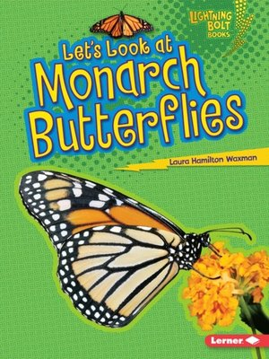Click this cover for a(n) eBook sample of Let's Look at Monarch Butterflies