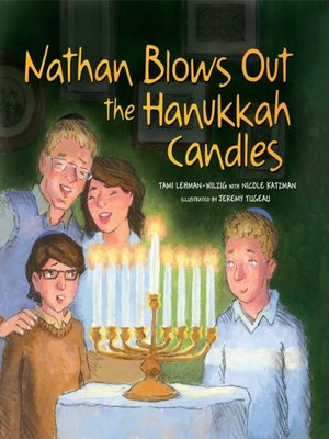 Cover of Nathan Blows Out the Hanukkah Candles