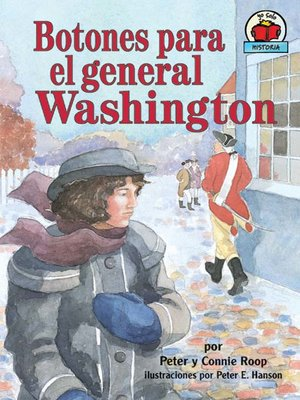Click this cover for a(n) eBook sample of Botones para el general Washington (Buttons for General Washington).