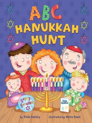 Click this cover for a(n) eBook sample of ABC Hanukkah Hunt.