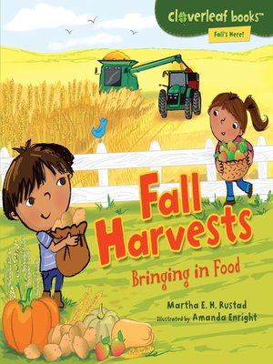 Click this cover for a(n) eBook sample of Fall Harvests.