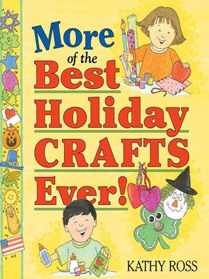 Click this cover for a(n) eBook sample of More of the Best Holiday Crafts Ever!