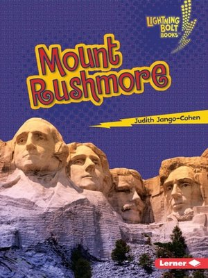 Click this cover for a(n) eBook sample of Mount Rushmore.