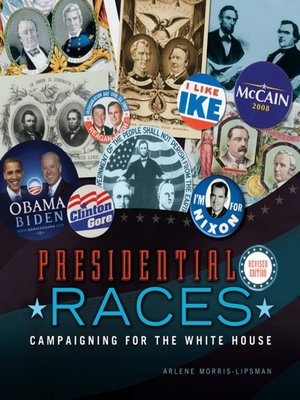 Click this cover for a(n) eBook sample of Presidential Races.