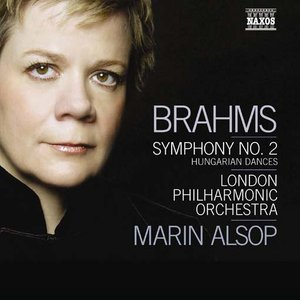 Click this cover for a(n) Music sample of BRAHMS: Symphony No. 2 / Hungarian Dances