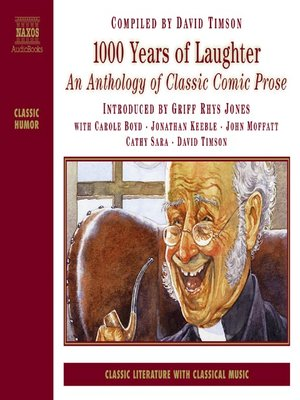 Click this cover for a(n) Audiobook sample of 1000 Years of Laughter.
