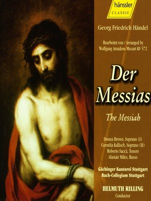Handel: Messiah - Arranged by W.A. Mozart