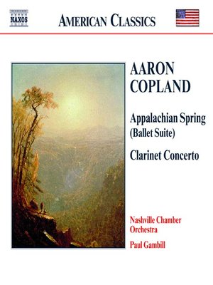 Click this cover for a(n) Music sample of COPLAND: Appalachian Spring / Clarinet Concerto / Quiet City