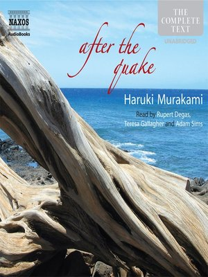 Click this cover for a(n) Audiobook sample of After The Quake.