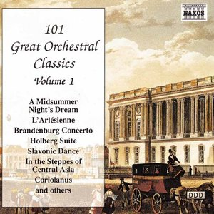 Click this cover for a(n) Music sample of 101 GREAT ORCHESTRAL CLASSICS, Vol. 1.