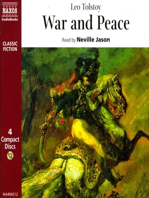 Click this cover for a(n) Audiobook sample of War and Peace.