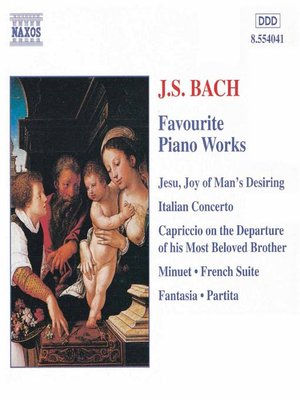 BACH, JS: Favourite Piano Works