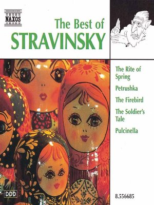 Cover of STRAVINSKY (The Best of)
