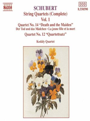 SCHUBERT: String Quartets Nos 12 and 14