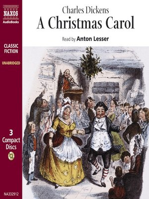 Click this cover for a(n) Audiobook sample of A Christmas Carol.