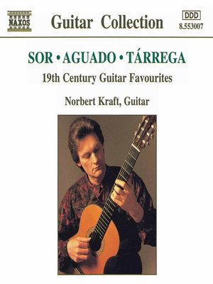 Cover of 19th Century Guitar Favourites