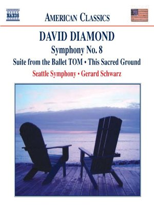 Click this cover for a(n) Music sample of DIAMOND: TOM Suite / Symphony No 8 / This Sacred Ground.