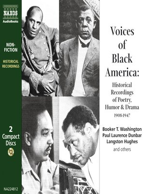 Click this cover for a(n) Audiobook sample of Voices of Black America.