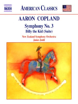 Click this cover for a(n) Music sample of COPLAND: Symphony No 3 / Billy the Kid