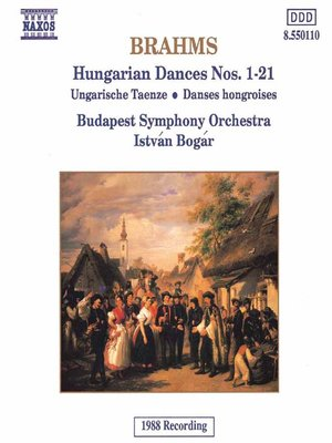 BRAHMS: Hungarian Dances Nos 1- 21