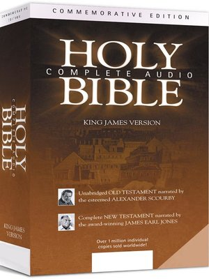 Click this cover for a(n) Audiobook sample of Complete Audio Holy Bible.
