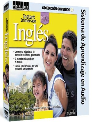 Click this cover for a(n) Audiobook sample of Instant Immersion Ingles.