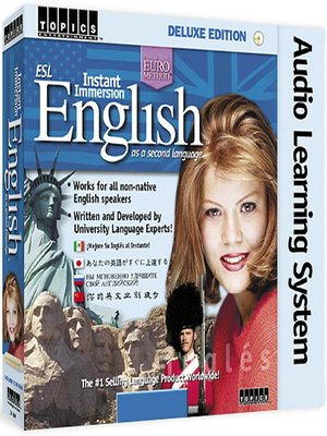 Click this cover for a(n) Audiobook sample of Instant Immersion English.